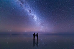 The Milky Way is clearly visible.