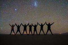 Just enjoy the stars.