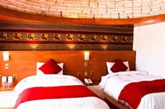Palacio de Sal hotel room.