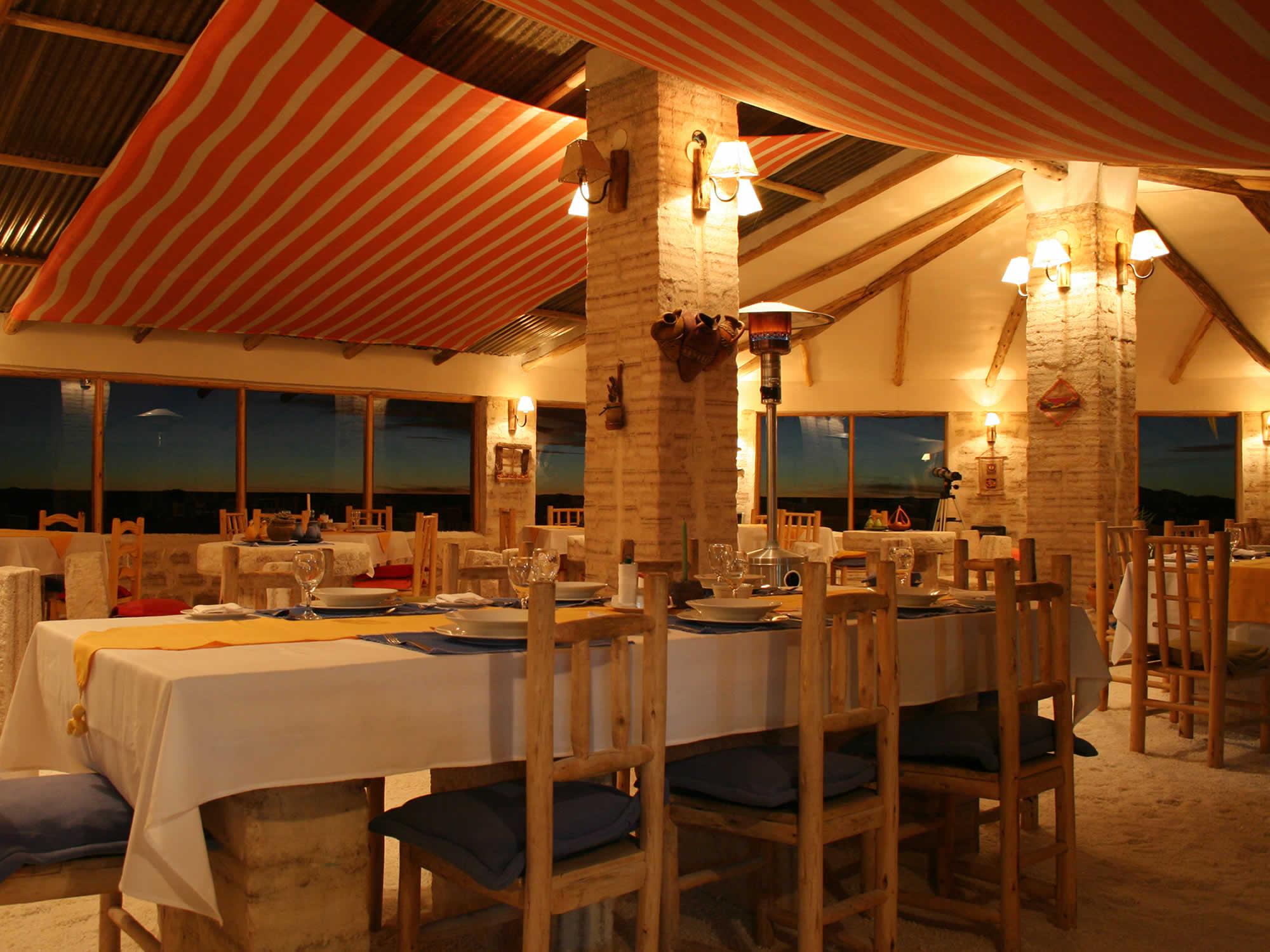 Hotel Luna Salada diner