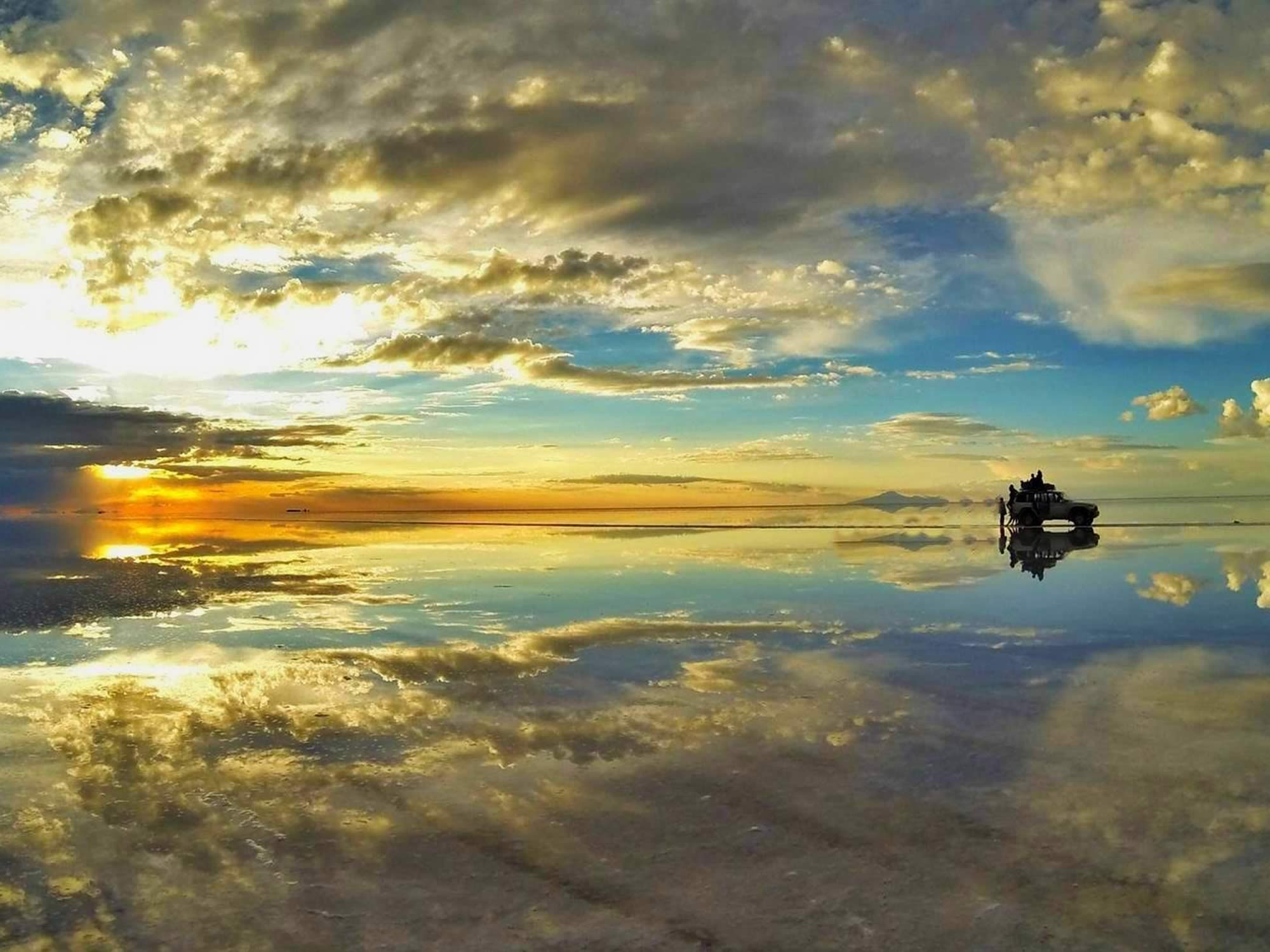 Uyuni Reflection