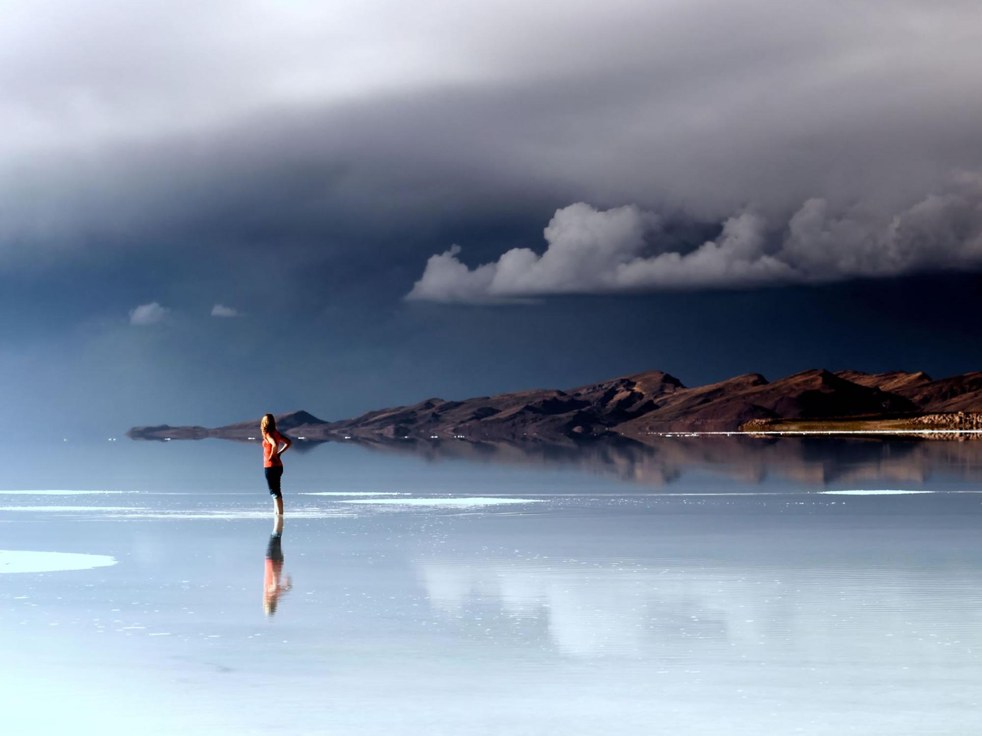 Storm in Uyuni