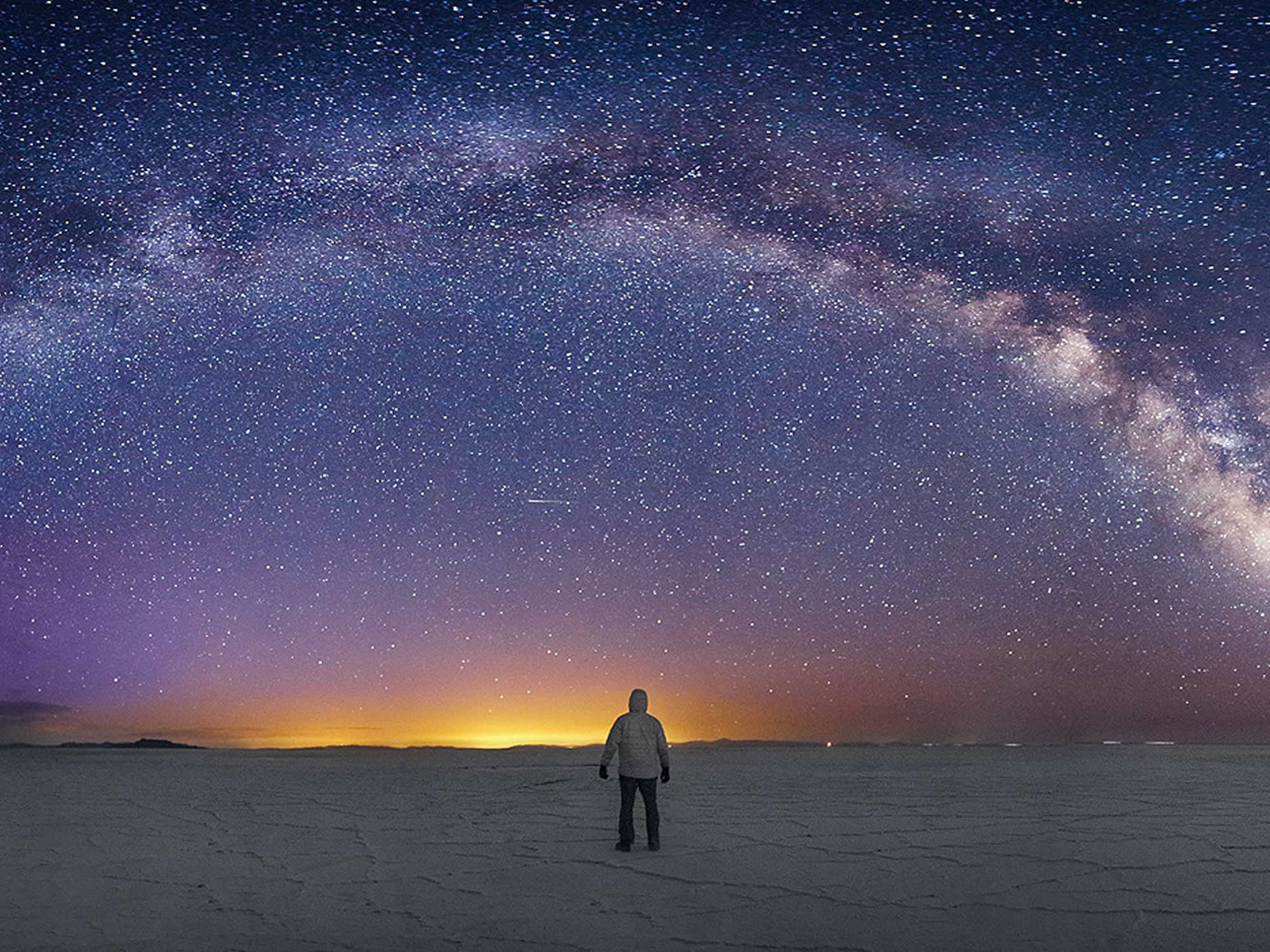 Stargazing in the salar