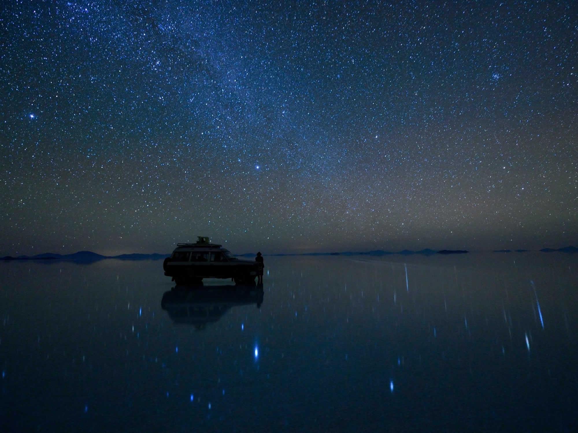 Stargazing in Uyuni
