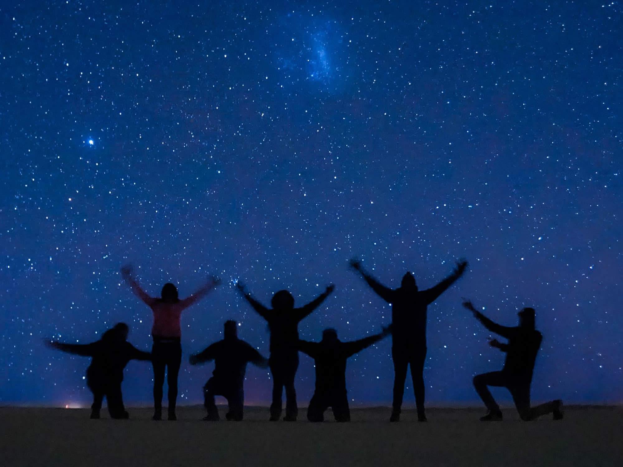 Salar de Uyuni stargazing tour