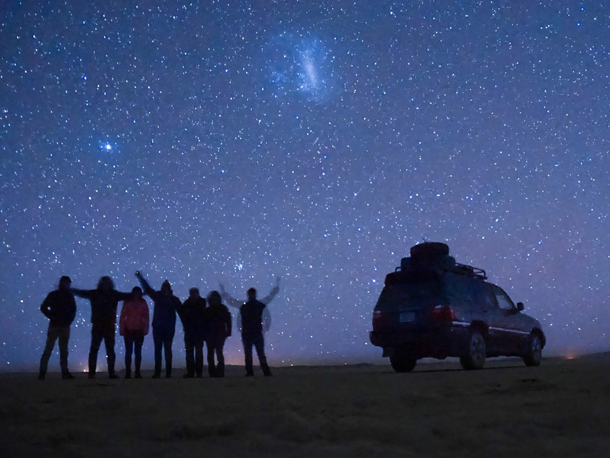 Take great photos during the stargazing tour